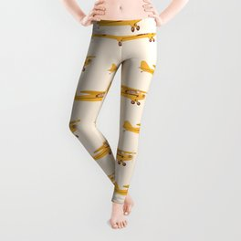 Little Yellow Plane Leggings