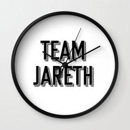 Team Jareth Wall Clock