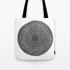 Circle / Semi Circles Tote Bag