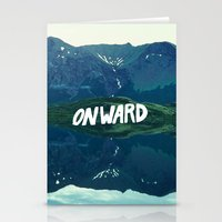 onward Stationery Cards featuring Onward by Good Sense