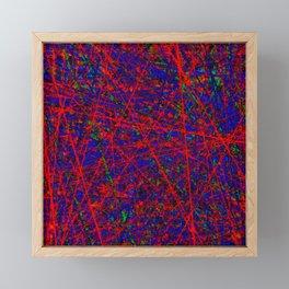 martian tracks Framed Mini Art Print