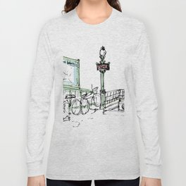 Sketches from Paris 07 Long Sleeve T-shirt