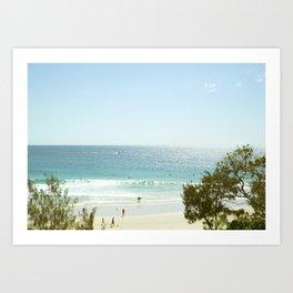 A day at the Beach 5 Art Print