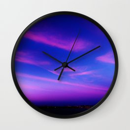 City by Atlantic Wall Clock