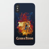 teen titans iPhone & iPod Cases featuring Titans by CromMorc