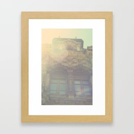 Sunny Ornament Framed Art Print