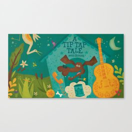 """A Tip Tap Tale"" Promo Canvas Print"