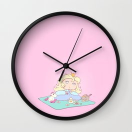 Lil Princess Tea Time Wall Clock
