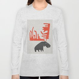 Grumpy Moose Long Sleeve T-shirt