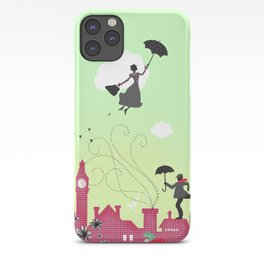 Mary Poppins, London iPhone Case