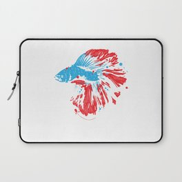Betta Splendens Shirt Bettas Siamese Fighting Fish Gift Laptop Sleeve