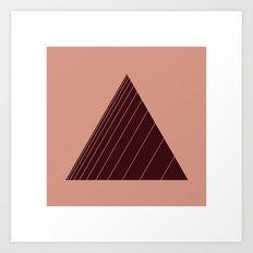 #18 Stripe-angle Art Print