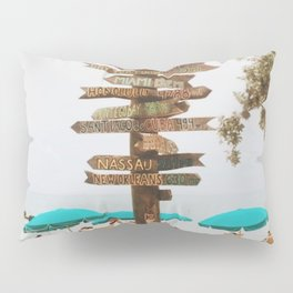 Key West Beach Day  Pillow Sham