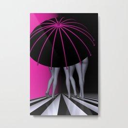 go pink -6- Metal Print