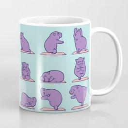 Baby Hippo Yoga Coffee Mug