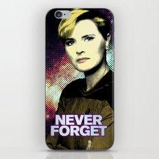 Never Forget Tasha iPhone & iPod Skin