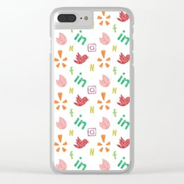 7 Deadly Sins (apps; version 2) Clear iPhone Case