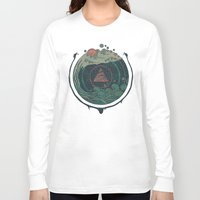 water Long Sleeve T-shirts featuring Water by Hector Mansilla