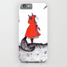 Red Riding Howl iPhone 6s Slim Case