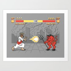 The Final Battle Art Print