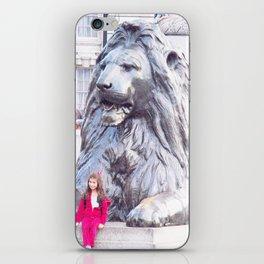 London Lion iPhone Skin