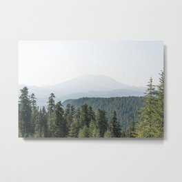 Lookout Ridge - Mountain Nature Photography Metal Print