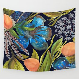 Tropic nuit Wall Tapestry
