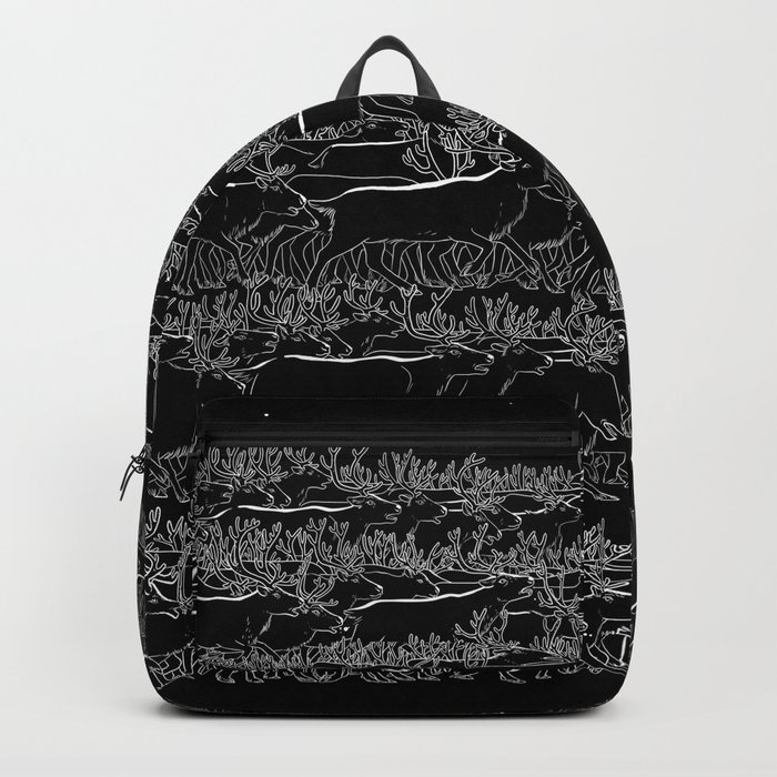 Night belongs to Reindeer Backpack