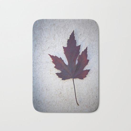 Maple Leaf II Bath Mat