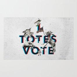 I Totes Vote Rug