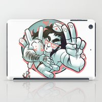 yaoi iPad Cases featuring Plushie! by kami dog