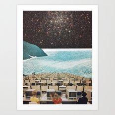 'Signals' Art Print