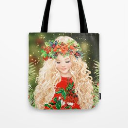 Little Merry Tote Bag