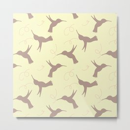 Hummingbird Hallow Collection -Fly Metal Print