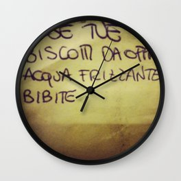 lista_della_spesa Wall Clock
