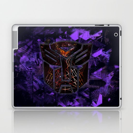 Autobots Abstractness - Transformers Laptop & iPad Skin