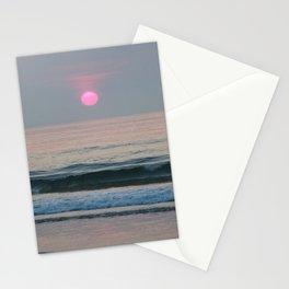 Pink Sun Stationery Cards