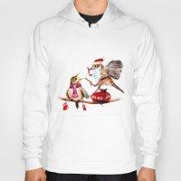 santa Hoodies featuring Santa by Anna Shell