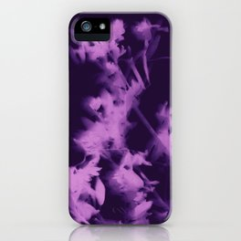 botanical - ultra violet iPhone Case