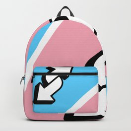 Trans reverse Backpack