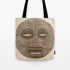African Luba Mask Tote Bag