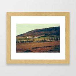 Lava Field House Framed Art Print