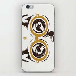 ∞ Homo Homini Lupus • AMEN ∞ iPhone Skin