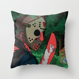 Not That Hockey Guy Throw Pillow