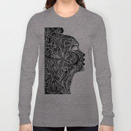 Emerging Face Long Sleeve T-shirt