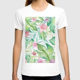 FLOWERS WATERCOLOR 17 T-shirt