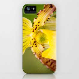 Yellow Lady iPhone Case