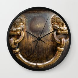 Chinese Water Cistern Wall Clock