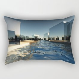 Q-City Two Rectangular Pillow