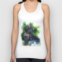 baking Tank Tops featuring Baking Heart Doll by j3rryc